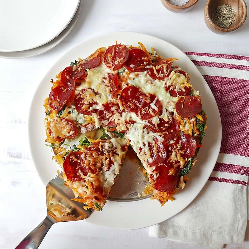"""Photo of Butternut """"spaghetti"""" pie by WW"""