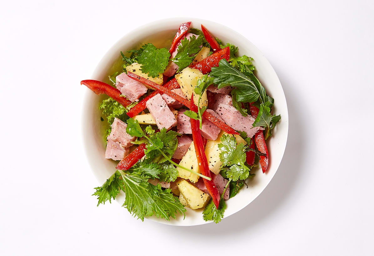 Photo of Leftover Easter ham and pineapple salad by WW