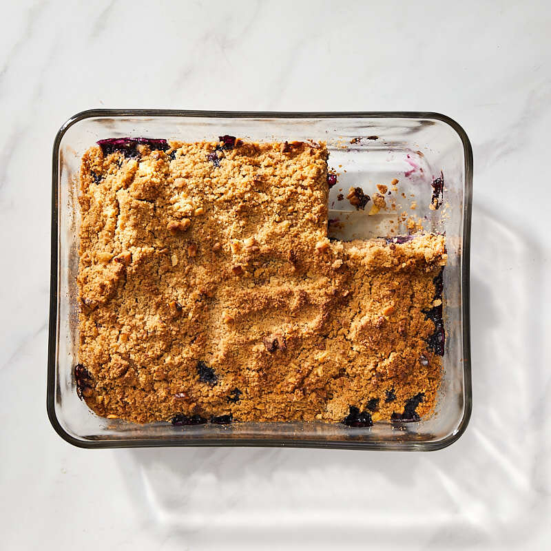 Photo of Blueberry Coffee Cake with Walnut Crumble by Millie Peartree by WW