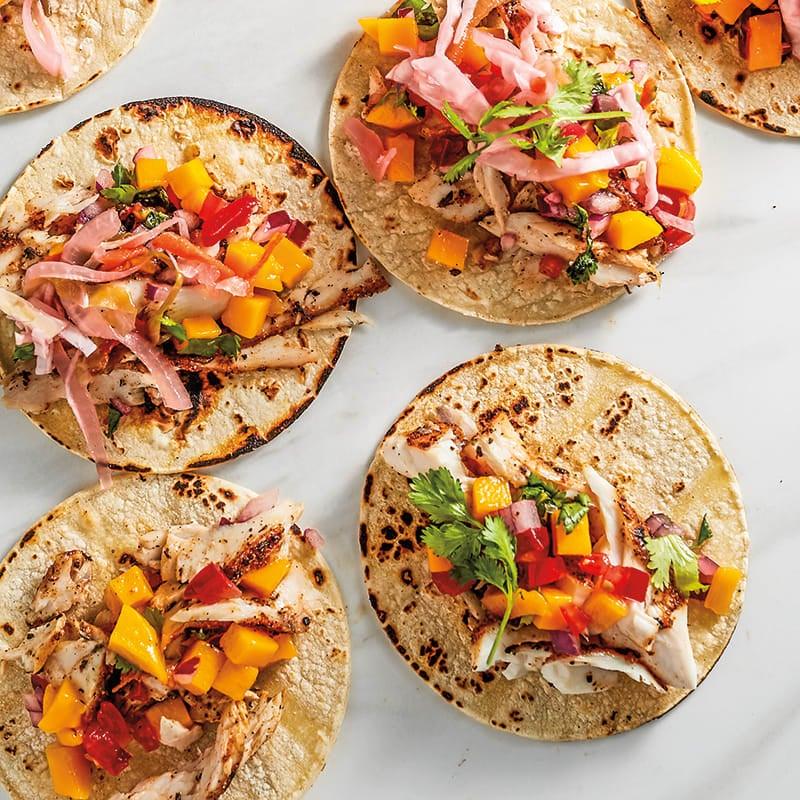 Photo of Floribbean mahi-mahi tacos by WW