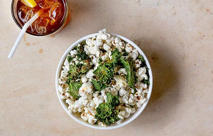 Photo of Popcorn & Kale Chip Snack by WW