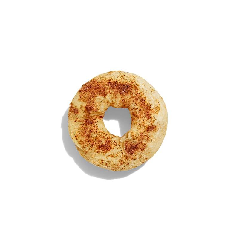 Photo of 2-ingredient dough cinnamon sugar bagels by WW