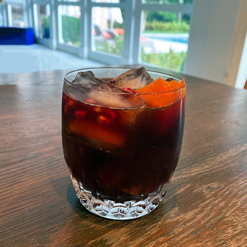 Photo of Sassy pomegranate cocktail by Digital 360 Coach Tess by WW