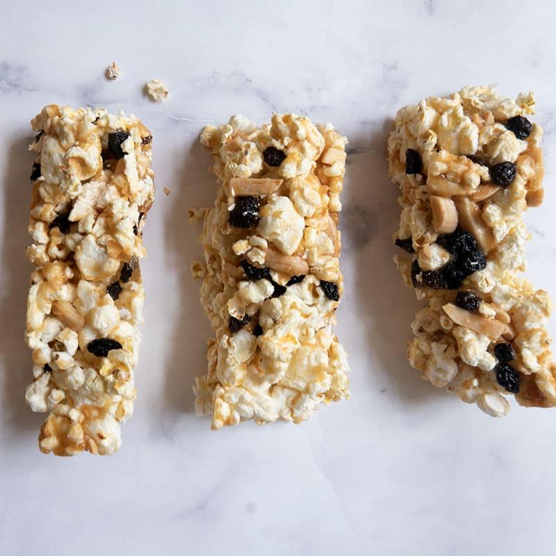Photo of Chewy popcorn granola bars by WW