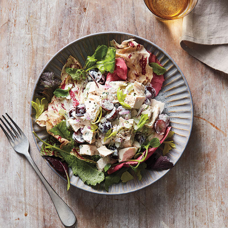 Photo of Chicken and grape salad by WW