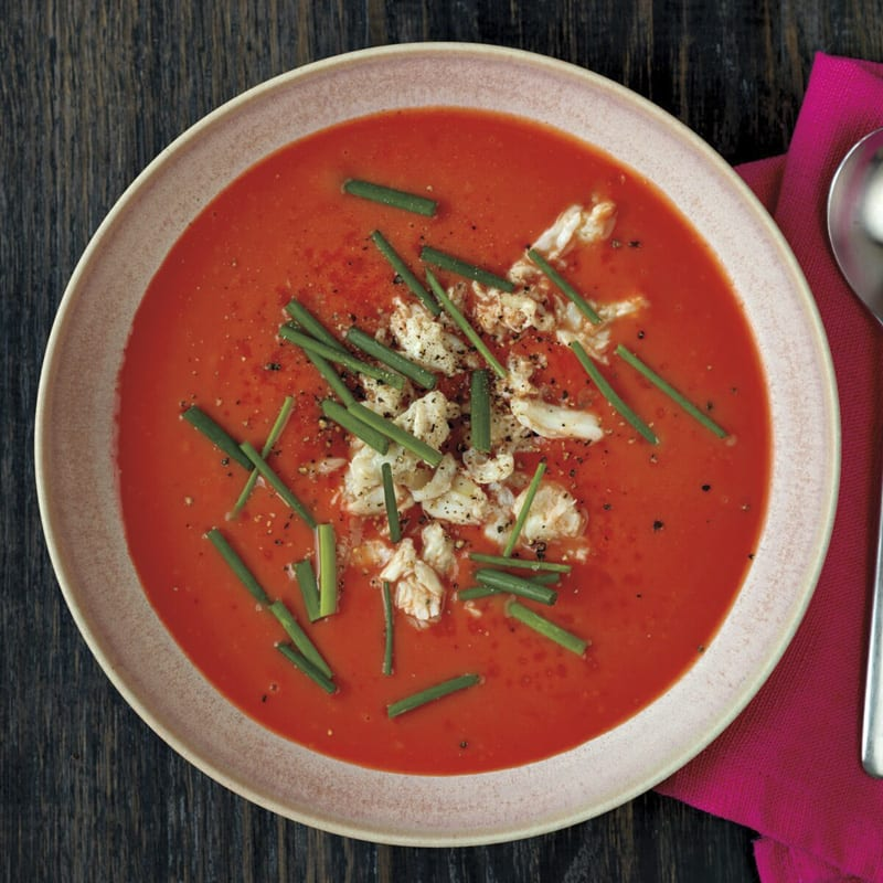 Photo of Creamy tomato soup with crab by WW
