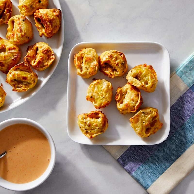 Photo of Oven-Fried Tortellini with Cheesy Dipping Sauce by Millie Peartree by WW