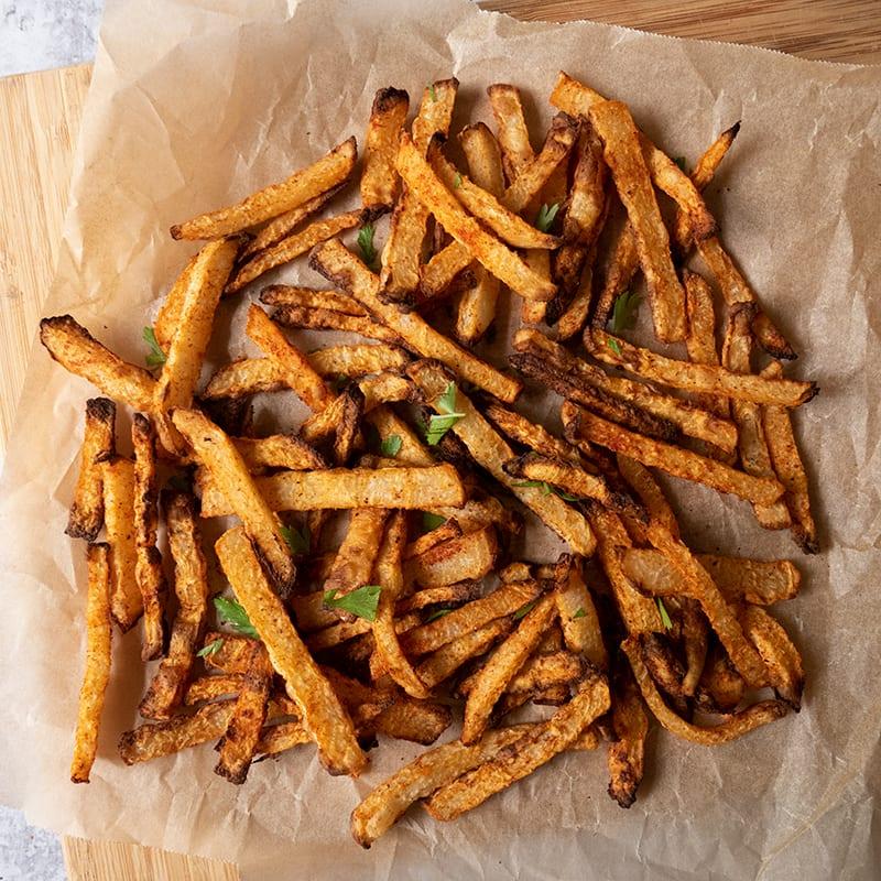 Photo of Air-fryer jicama fries by WW