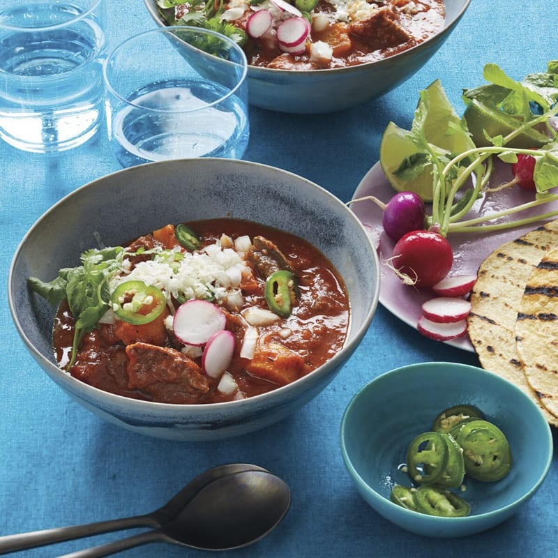 Photo of Carne guisada with charred tortillas by WW