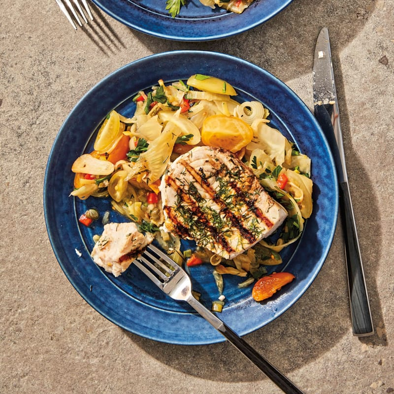 Photo of Pan-grilled Calabrian swordfish by WW