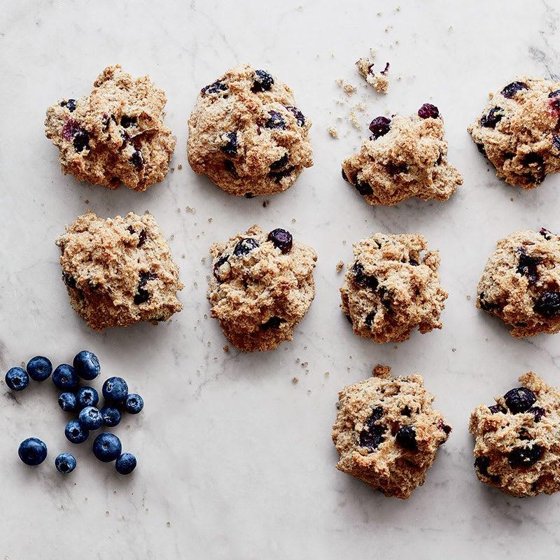 Photo of Blueberry-lemon drop scones by WW