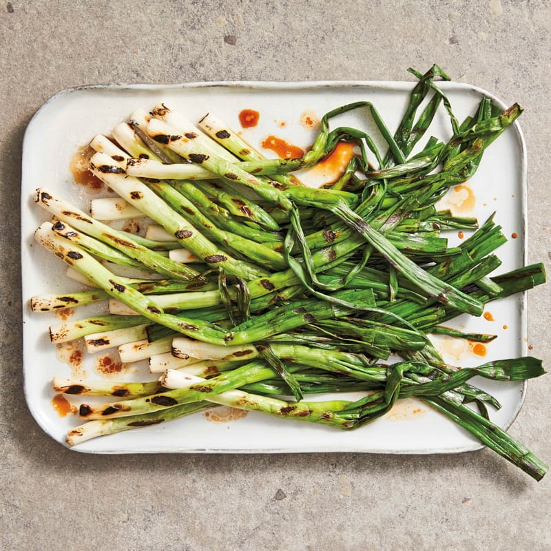Photo of Grilled scallions with soy and sesame by WW