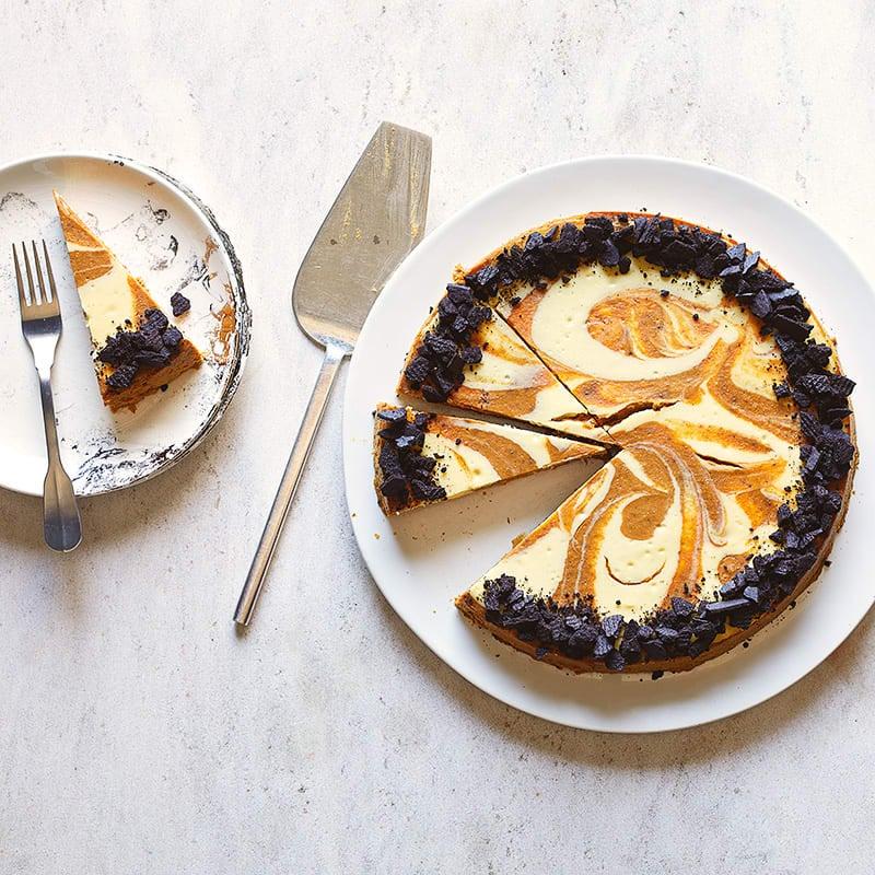Photo of Pumpkin swirl cheesecake by WW
