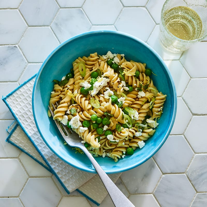 Photo of Minty pea pasta by WW