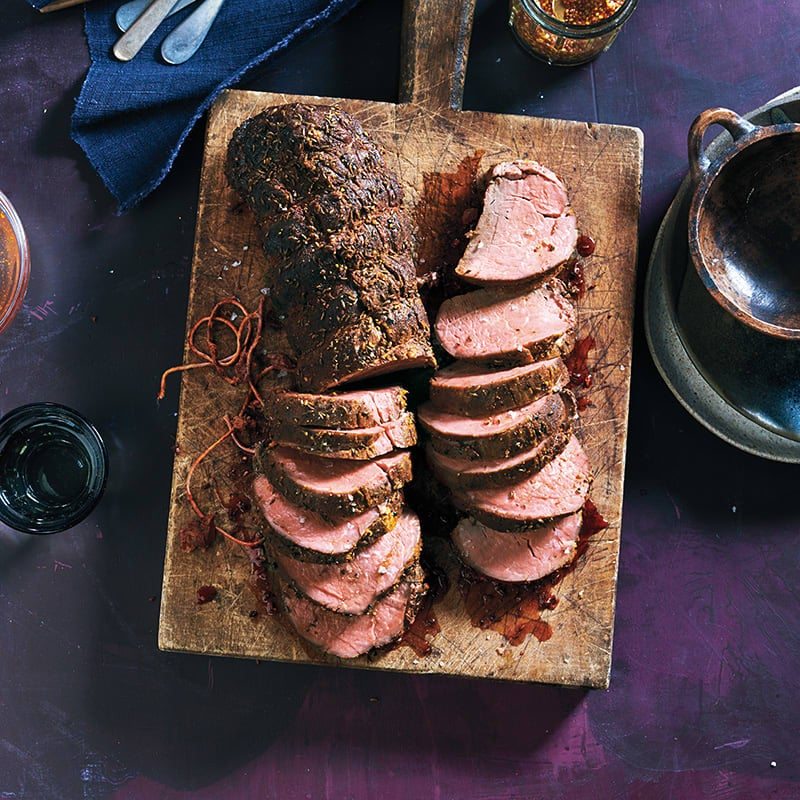Photo of Pastrami-style slow-roasted beef tenderloin by WW