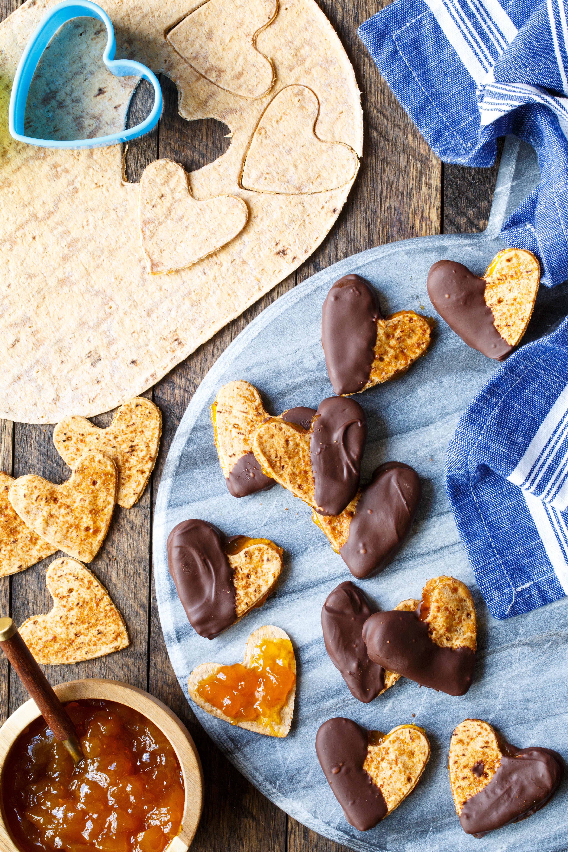 Photo of Mango chocolate hearts by WW