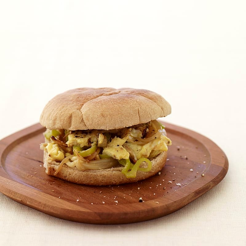 Photo of Italian pepper and egg sandwiches by WW
