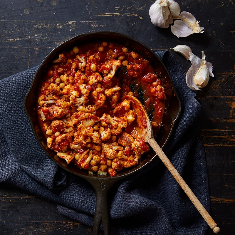 Photo of Cauliflower with Chickpeas, Smoked Paprika and Preserved Lemon by WW