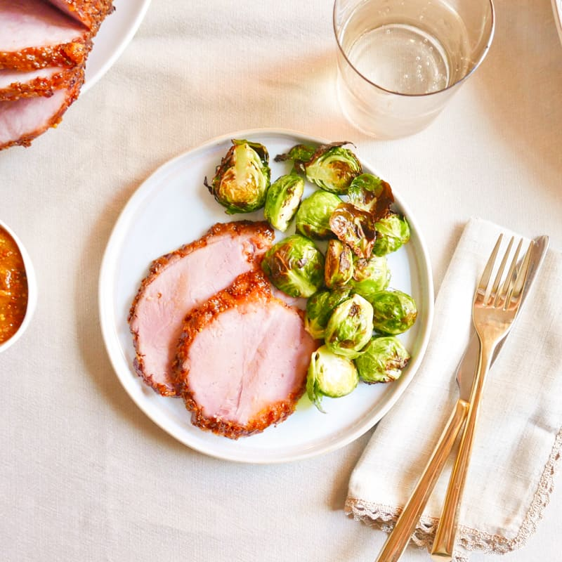 Photo of Apricot-glazed baked ham by WW