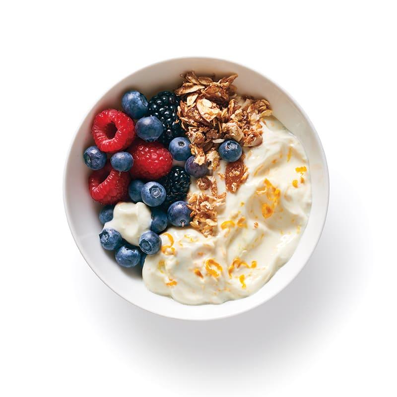 Photo of Yogurt-Berry Bowl by WW