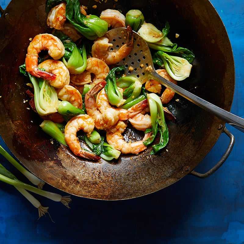 Photo of Spicy Ginger Shrimp with Baby Bok Choy by WW