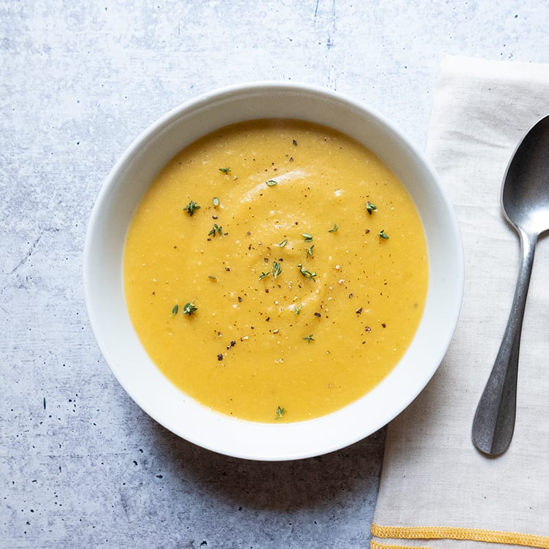Photo of Creamy Instant Pot Summer Squash Soup by WW