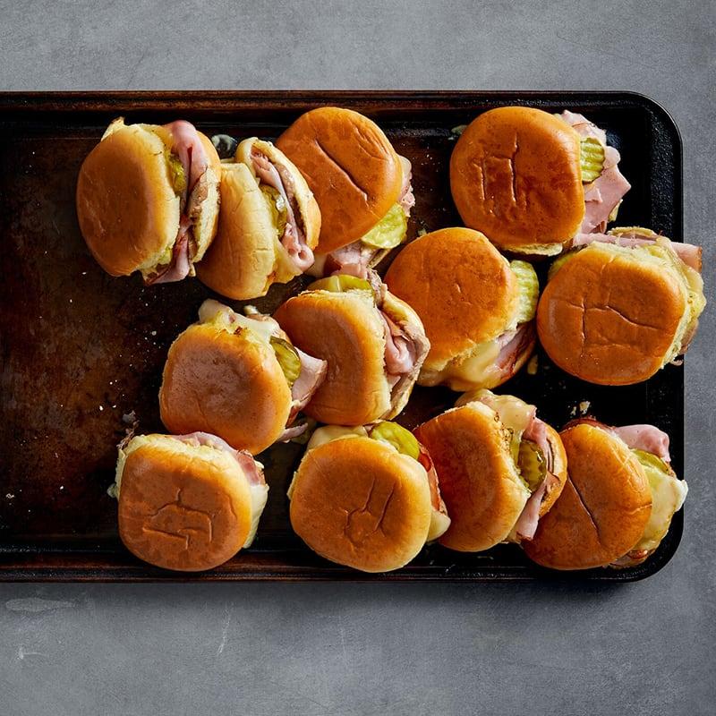 Photo of Cuban sandwich sliders by WW