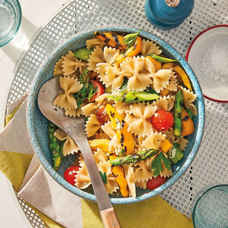 Photo of Grilled-vegetable pasta salad by WW