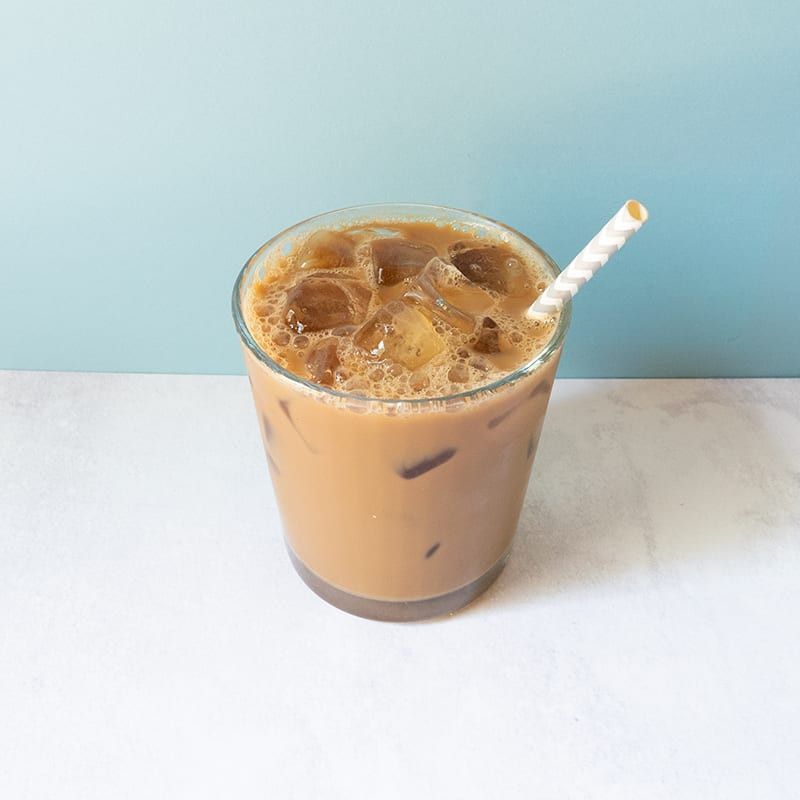 Photo of Double-almond iced coffee by WW
