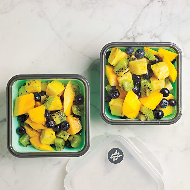 Photo of Fresh fruit salad with lime-ginger syrup by WW