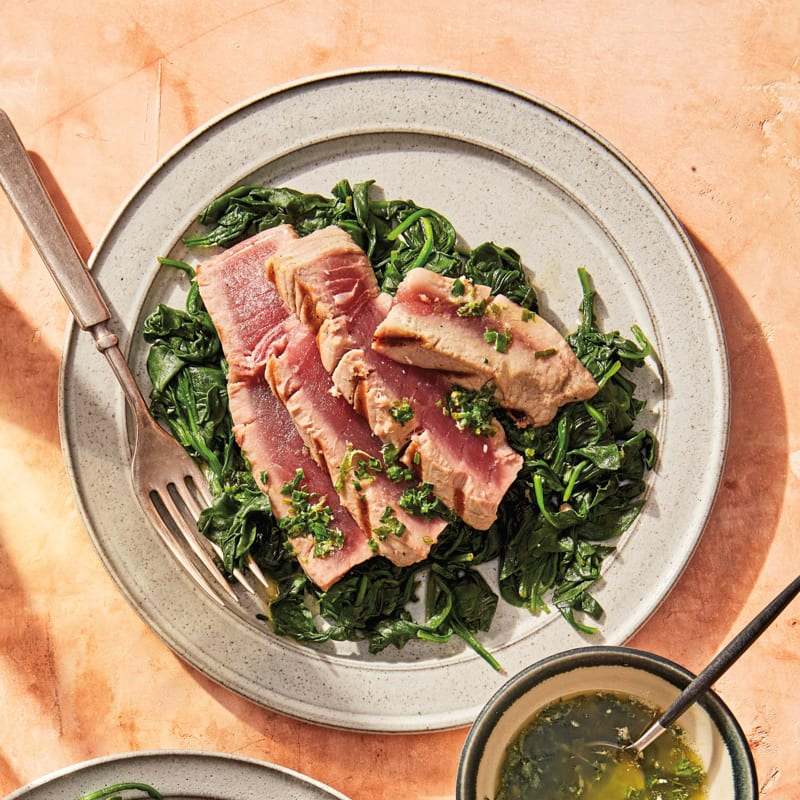 Photo of Grilled tuna with herb butter by WW