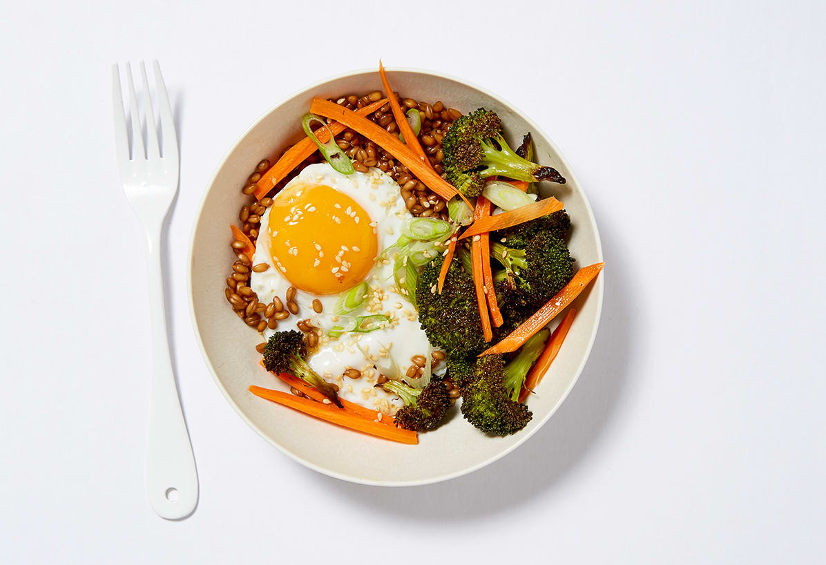 Photo of Asian Wheat Berry Bowl by WW