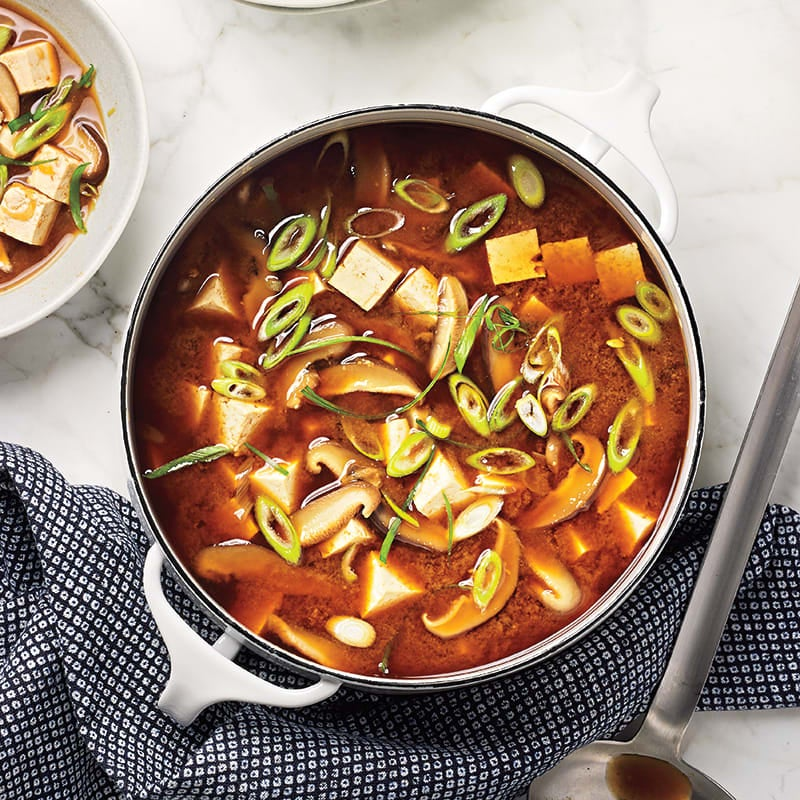 Photo of Miso soup with tofu & shiitakes by WW