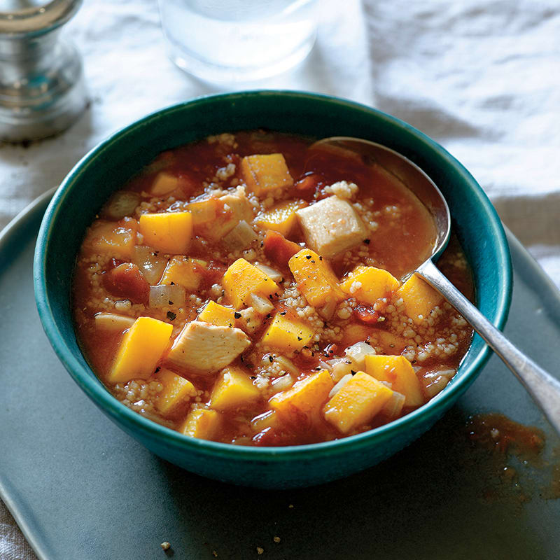 Photo of Moroccan Chicken, Vegetable & Couscous Soup by WW