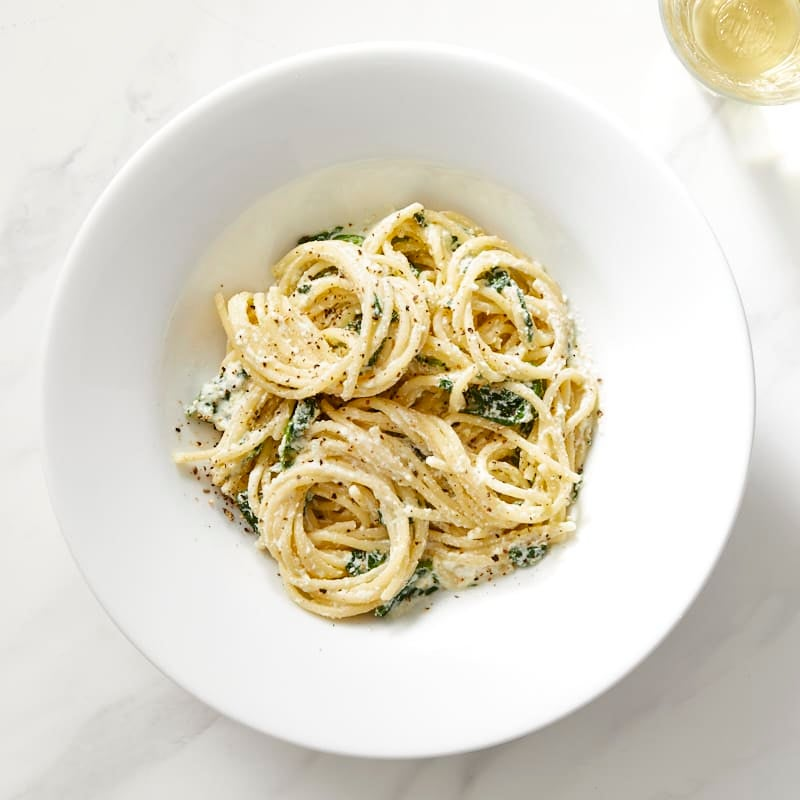 Photo of Lemon and Ricotta-Spinach Pasta by Millie Peartree by WW