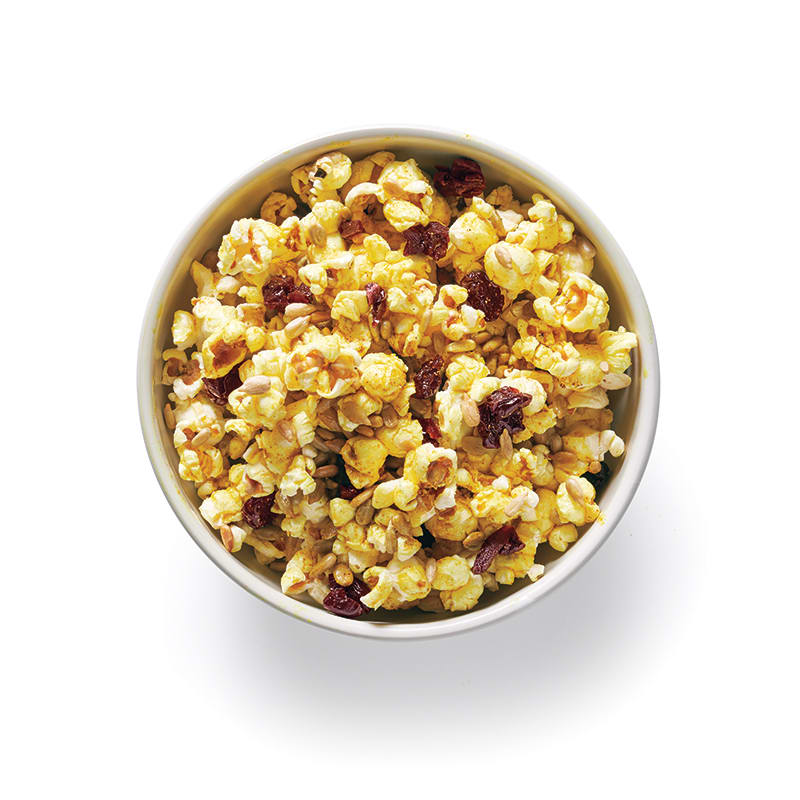 Photo of Curried popcorn with dried cherries by WW