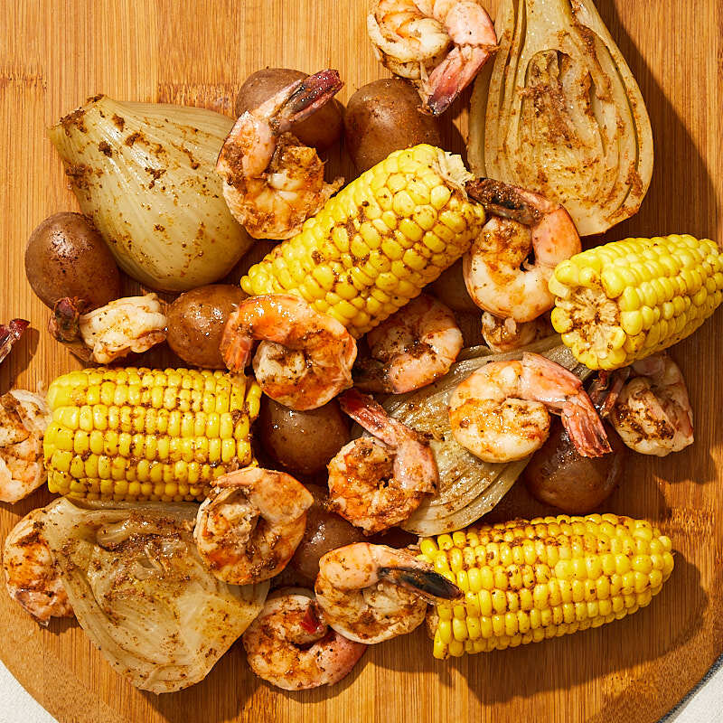Photo of Old-fashioned shrimp boil by WW