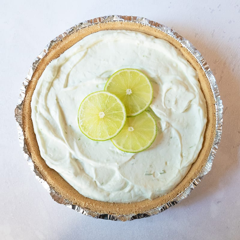 Photo of Easy St. Paddy's Day lime pie by WW
