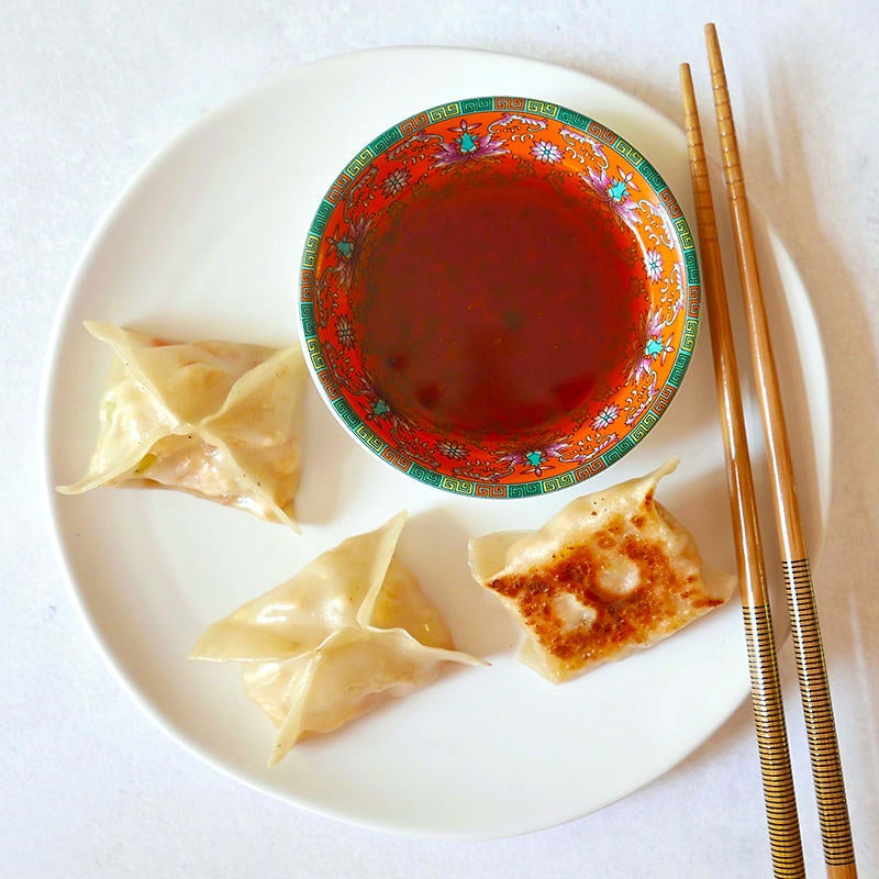 Photo of Tofu and kimchi potstickers by WW