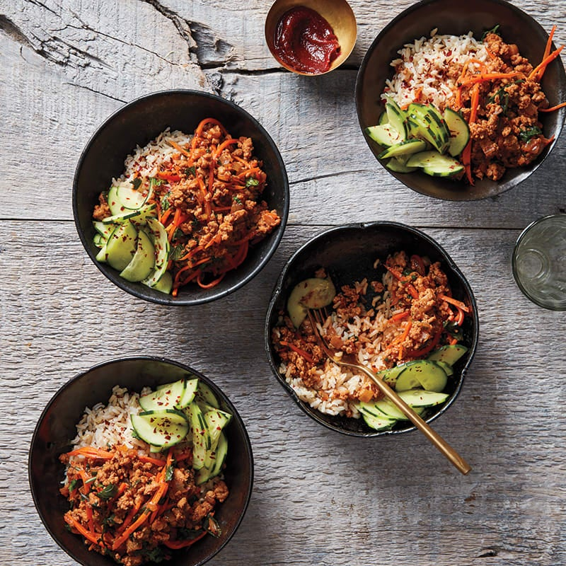 Photo of Korean Chicken and Rice Bowls by WW