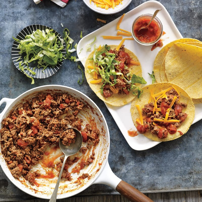 Photo of Easy ground beef tacos by WW