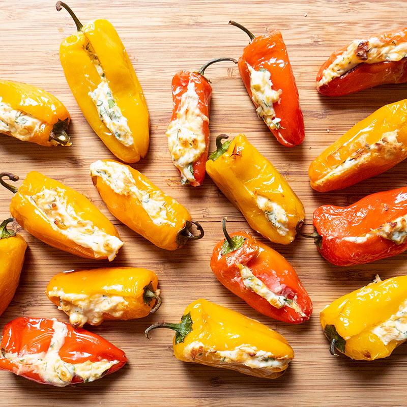 Photo of Air-Fried Stuffed Mini Sweet Peppers by WW