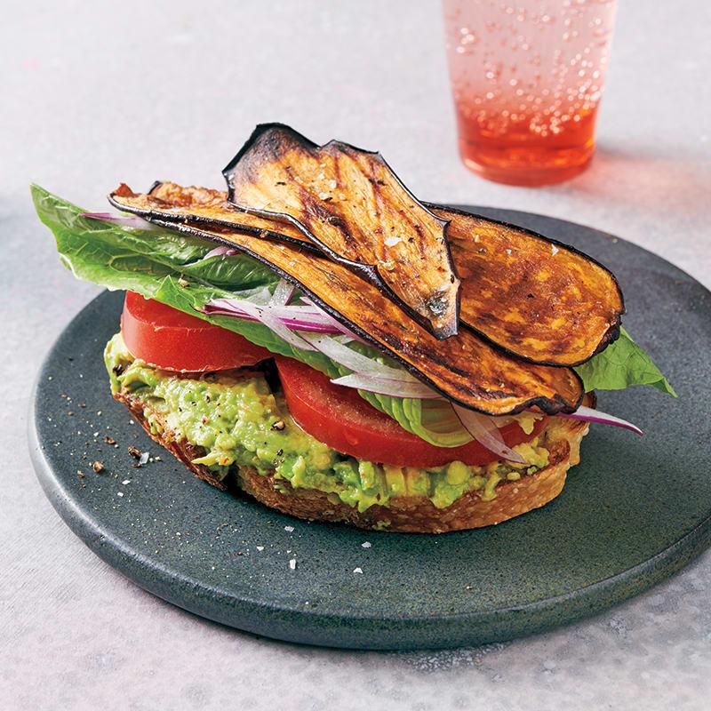 Photo of Eggplant BLT sandwiches by WW
