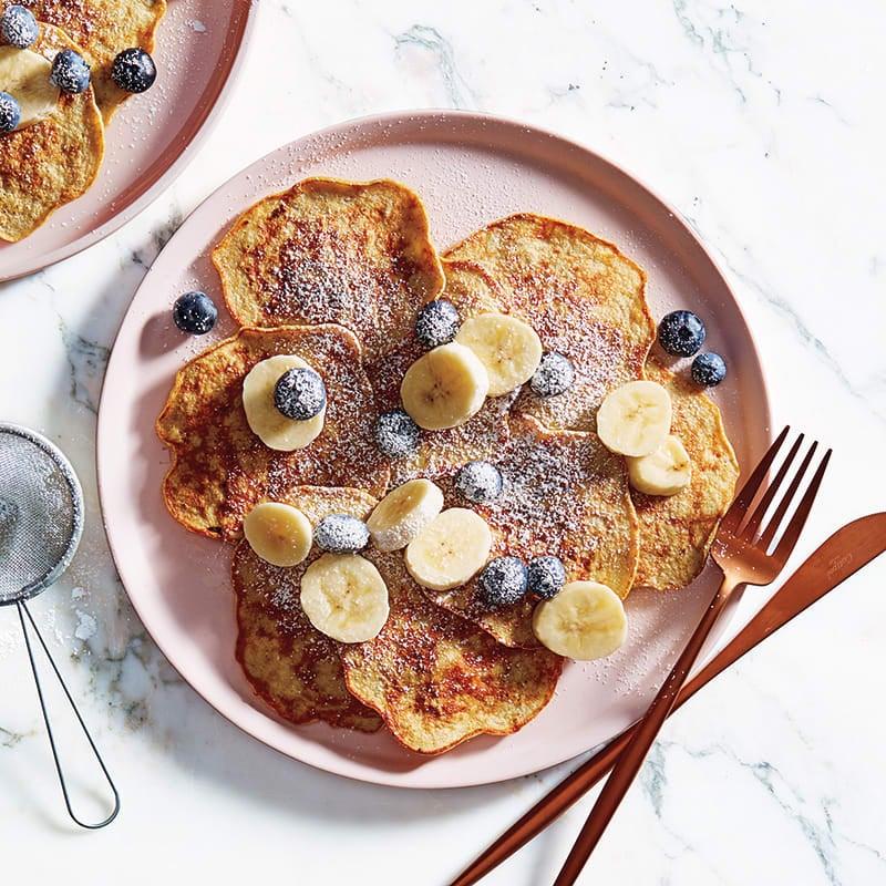 Photo of Banana lover's flourless pancakes by WW