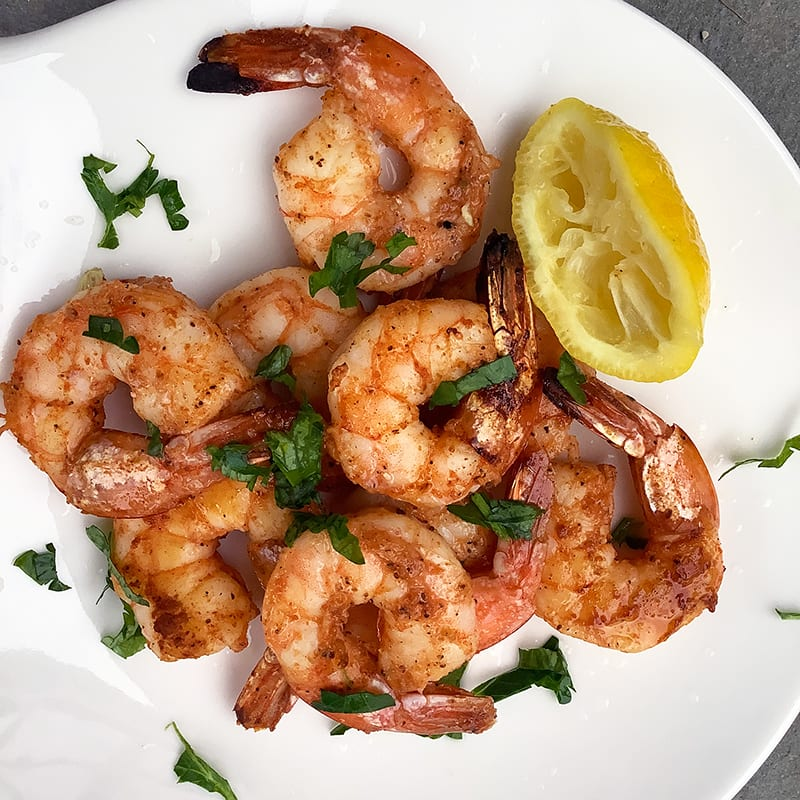 Photo of Cajun-broiled shrimp by Chef Millie Peartree by WW