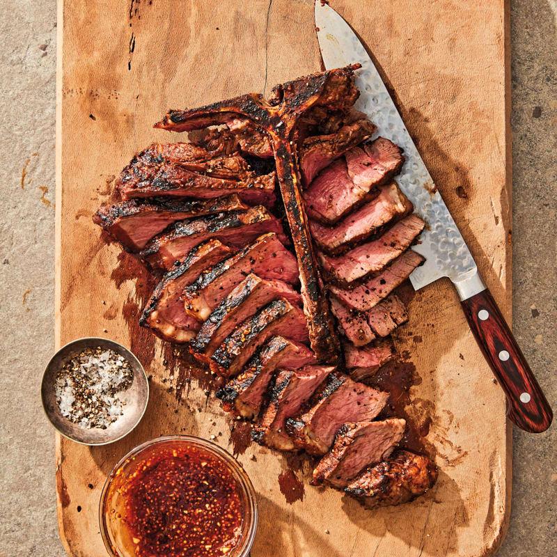 Photo of Easy BBQ T-bone steak by WW