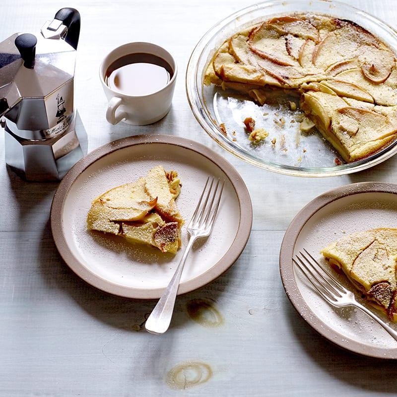 Photo of Cinnamon-apple soft-oven pancake by WW