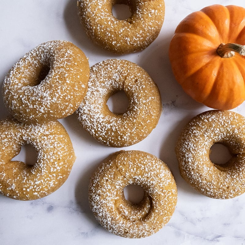Photo of Baked pumpkin spice doughnuts by WW