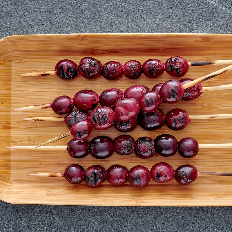 Photo of Grilled grapes by WW
