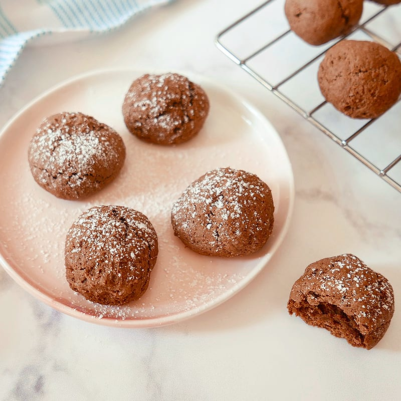 Photo of Fudgy chocolate cookies by WW